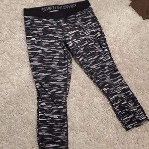 Nike camo dri fit capri leggings pant xl